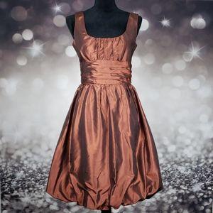 100% Silk Donna Ricco Iridescent Dress
